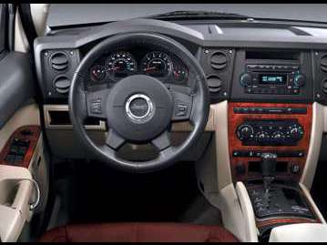 jeep commander-limited-57-v8-hemi-2006 painel