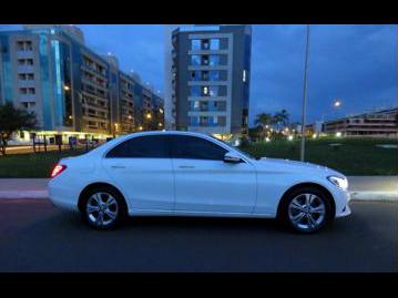 mercedes-benz c-180-avantgarde-flexfuel-2017 lateral