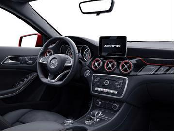 mercedes-benz gla-45-amg-4matic-dct-2018 painel