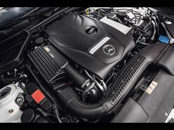 mercedes-benz slc-300-20-2017 motor