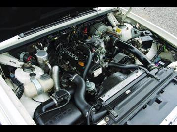 volvo 940-station-wagon-30-turbo-1991 motor